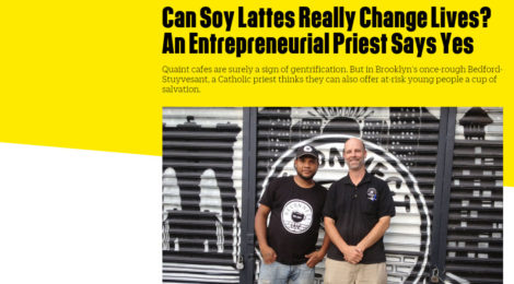 Fast Company Article | Can Soy Lattes Really Change Lives?