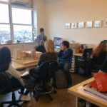 Productive Collisions studio visits Caples Jefferson Architects