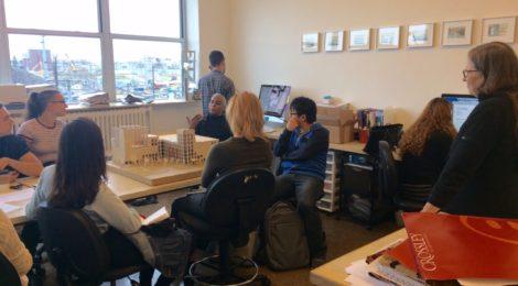 Productive Collisions studio visits Caples Jefferson Architects